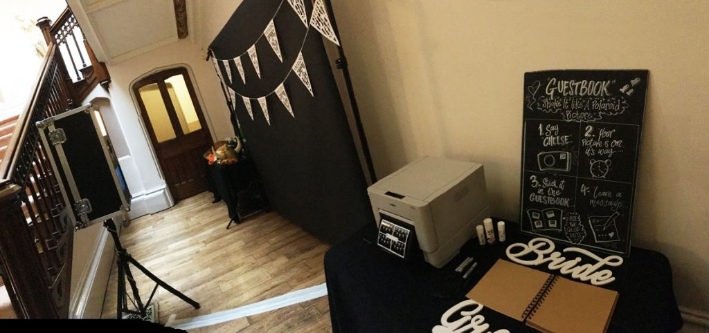Photo Booth Setup Picture
